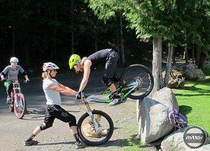 use mountain biking