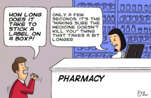 How long does it take text needs permission pharmacists day