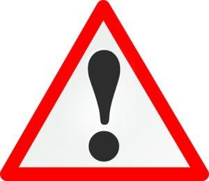 risk-road-sign